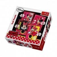 Piękna Minnie (puzzle 4 w 1) - zdjęcie zabawki, gry