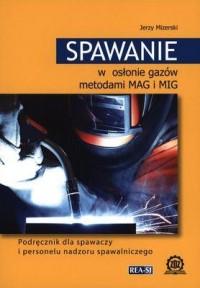 Spawanie w osłonie gazów metodami - okładka książki