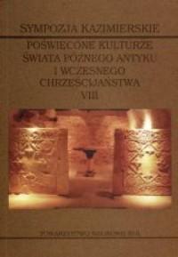Sympozja kazimierskie poświęcone - okładka książki