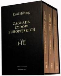Zagłada żydów europejskich. Tomy - okładka książki