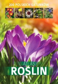Atlas roślin. 200 polskich gatunków - okładka książki