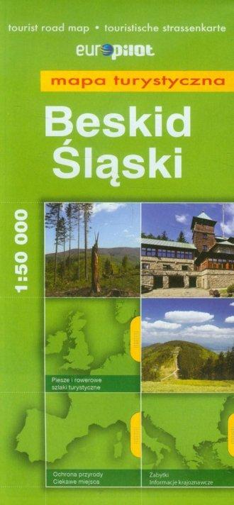 Beskid Śląski mapa turystyczna - okładka książki