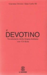 Devotino. Vocabolario della lingua italiana con (+ CD) - okładka książki