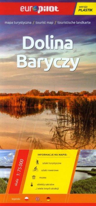 Dolina Baryczy mapa turystyczna - okładka książki