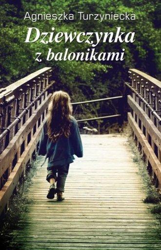 Dziewczynka z balonikami - okładka książki