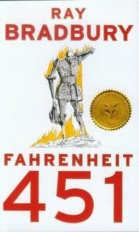 Fahrenheit 451 - okładka książki