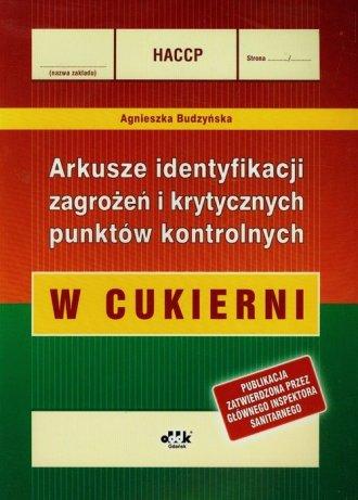 HACCP. Arkusze identyfikacji zagrożeń - okładka książki