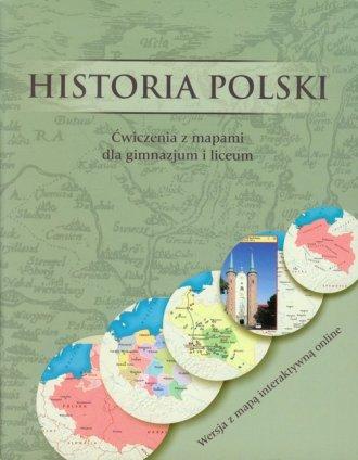 Historia Polski. Ćwiczenia z mapami - okładka podręcznika