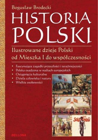 Historia Polski. Ilustrowane dzieje - okładka książki