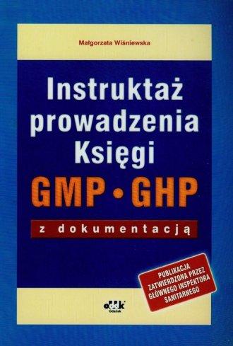 Instruktaż prowadzenia Księgi GMP - okładka książki