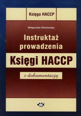 Instruktaż prowadzenia Księgi HACCP - okładka książki