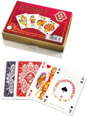 Karty do gry luxury - zdjęcie zabawki, gry
