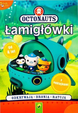 Łamigłówki z naklejkami. Octonauts - okładka książki