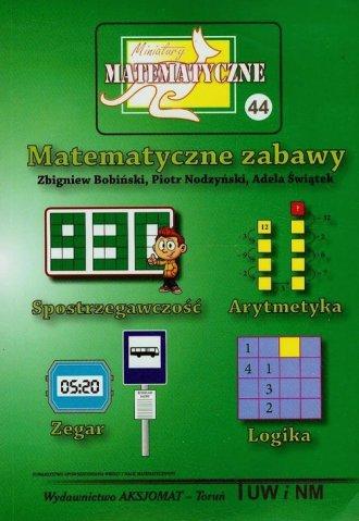 Miniatury matematyczne 44. Matematyczne - okładka książki