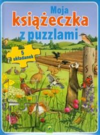 Moja książeczka z puzzlami (5 układanek) - okładka książki