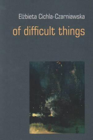 Of difficult things - okładka książki