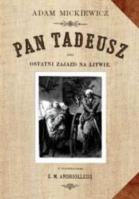 Pan Tadeusz czyli ostatni Zajazd - okładka książki