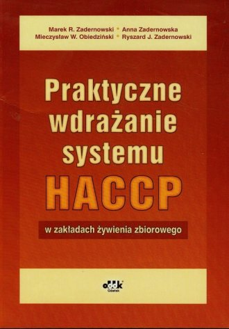 Praktyczne wdrażanie systemu HACCP - okładka książki