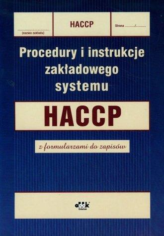 Procedury i instrukcje zakładowego - okładka książki