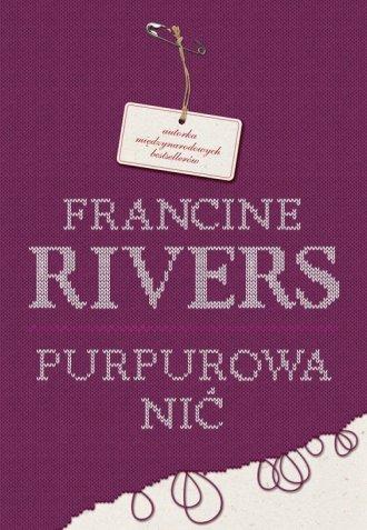 Purpurowa nić - okładka książki