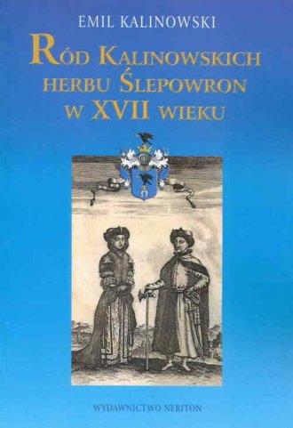 Ród Kalinowskich herbu Ślepowron - okładka książki