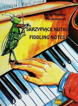 Skrzypiące nutki na skrzypce i - okładka podręcznika