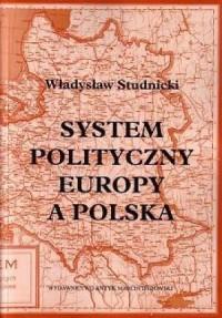 System Polityczny Europy a Polska - okładka książki