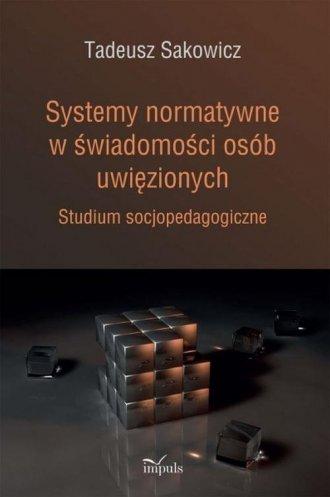 Systemy normatywne w świadomości - okładka książki