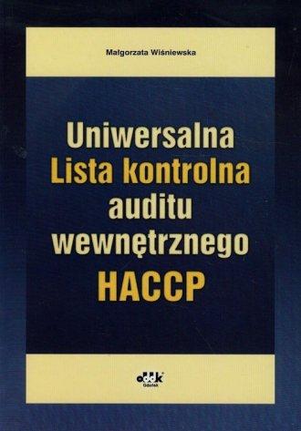 Uniwersalna Lista kontrolna auditu - okładka książki