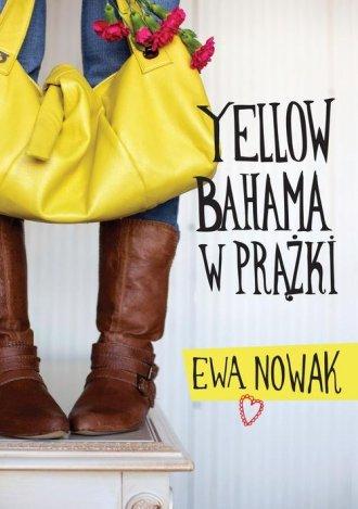 Yellow bahama w prążki - okładka książki