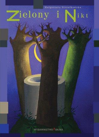 Zielony i Nikt - okładka książki