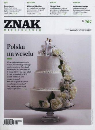 Znak nr 707. Polska na weselu - okładka książki