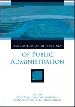 Legal Aspects of the Efficiency - okładka książki