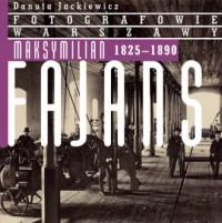 Maksymilian Fajans 1825-1890 - okładka książki