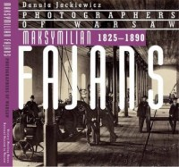 Maksymilian Fajans 1825-1890 (wersja ang.) - okładka książki