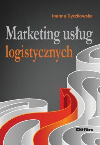 Marketing usług logistycznych - okładka książki