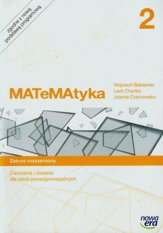 MATeMAtyka 2. Szkoła ponadgimnazjalna. - okładka podręcznika