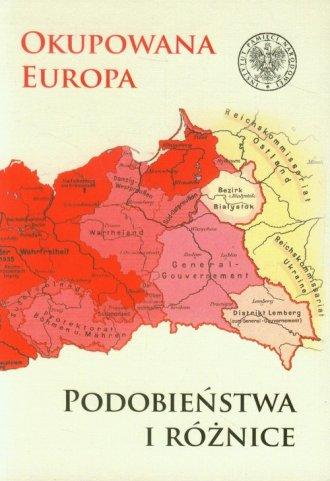 Okupowana Europa. Podobieństwa - okładka książki