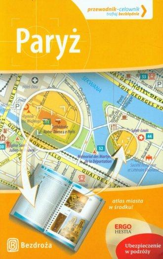 Paryż. Przewodnik Celownik - okładka książki