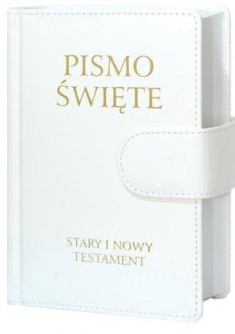 Pismo Święte Stary i Nowy Testament - okładka książki