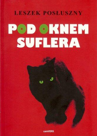 Pod oknem suflera - okładka książki