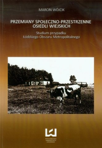 Przemiany społeczno-przestrzenne - okładka książki