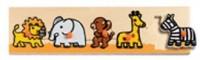 Safari (puzzle drewniane z uchwytami) - zdjęcie zabawki, gry