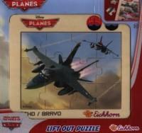 Samoloty Echo / Bravo (puzzle w ramce) - zdjęcie zabawki, gry
