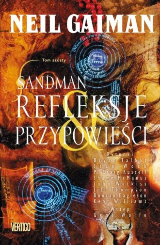 Sandman. Tom 6. Refleksje i przypowieści - okładka książki