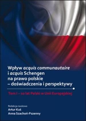 Wpływ acquis communautaire i acquis - okładka książki
