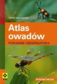 Atlas owadów. Poradnik obserwatora - okładka książki