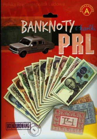 Banknoty i kartki PRL - zdjęcie zabawki, gry