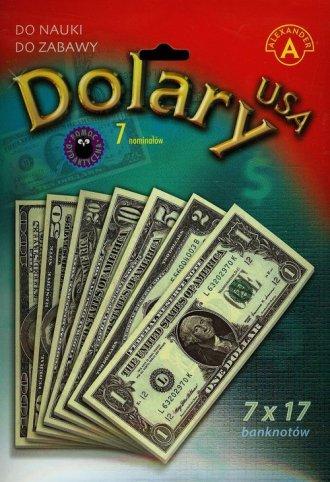 Dolary USA. 7 nominałów - zdjęcie zabawki, gry