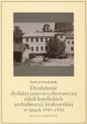 Działalność dydaktyczno-wychowawcza - okładka książki